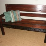 Benches: 2 or 3 Seat Solid Bench