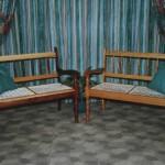 Benches: 2-seat Riempiematbank