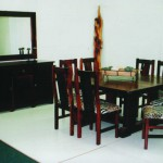Dining Room: African Square with I Base