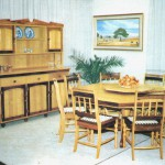 Dining Room: Octagonal Dining Room Table With Loose Turntable