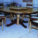 Dining Room: Round Dining Room Table With Loose Turntable