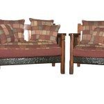 Sitting Room - African Cottage Lounge Suite - 2 Seater + 1 Chair