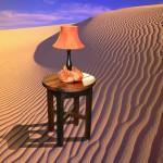 Sitting Room: Round Corner Table