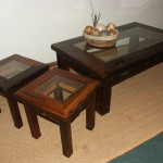 Sitting Room Table: Coffee Tables with 10mm glass in Top