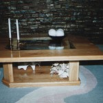 Sitting Room Table: Modern Coffee Table (B)