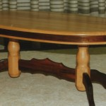 Sitting Room Table: Oval Coffee Table