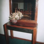 Tables: Solid Hall Table
